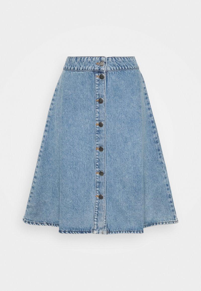 Mads Nørgaard - VINTAGE INDIGO STELISSA - Jupe en jean - washed blue