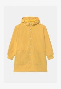 TINYCOTTONS - TINY FUJI UNISEX - Waterproof jacket - yellow/off-white - 0