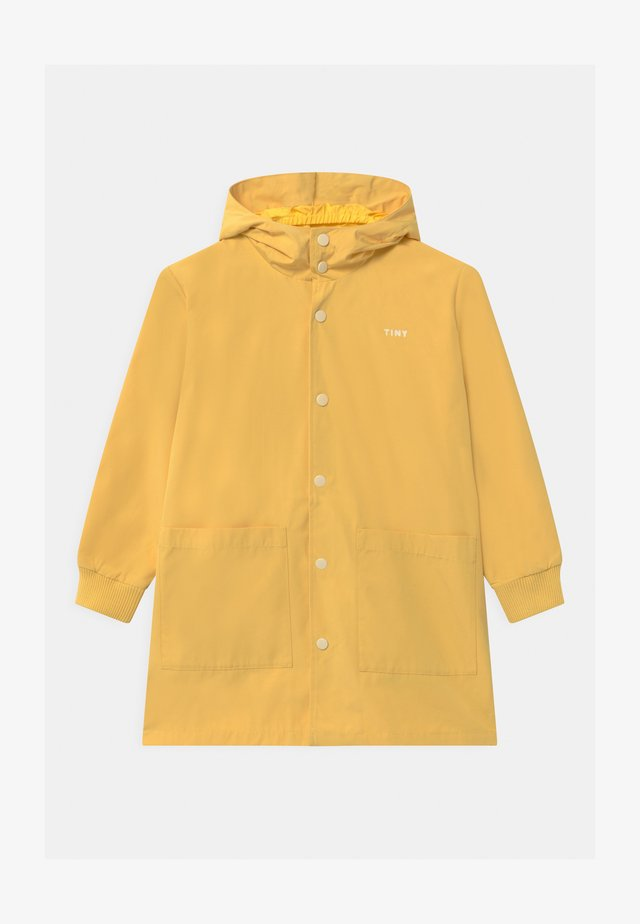 TINY FUJI UNISEX - Waterproof jacket - yellow/off-white
