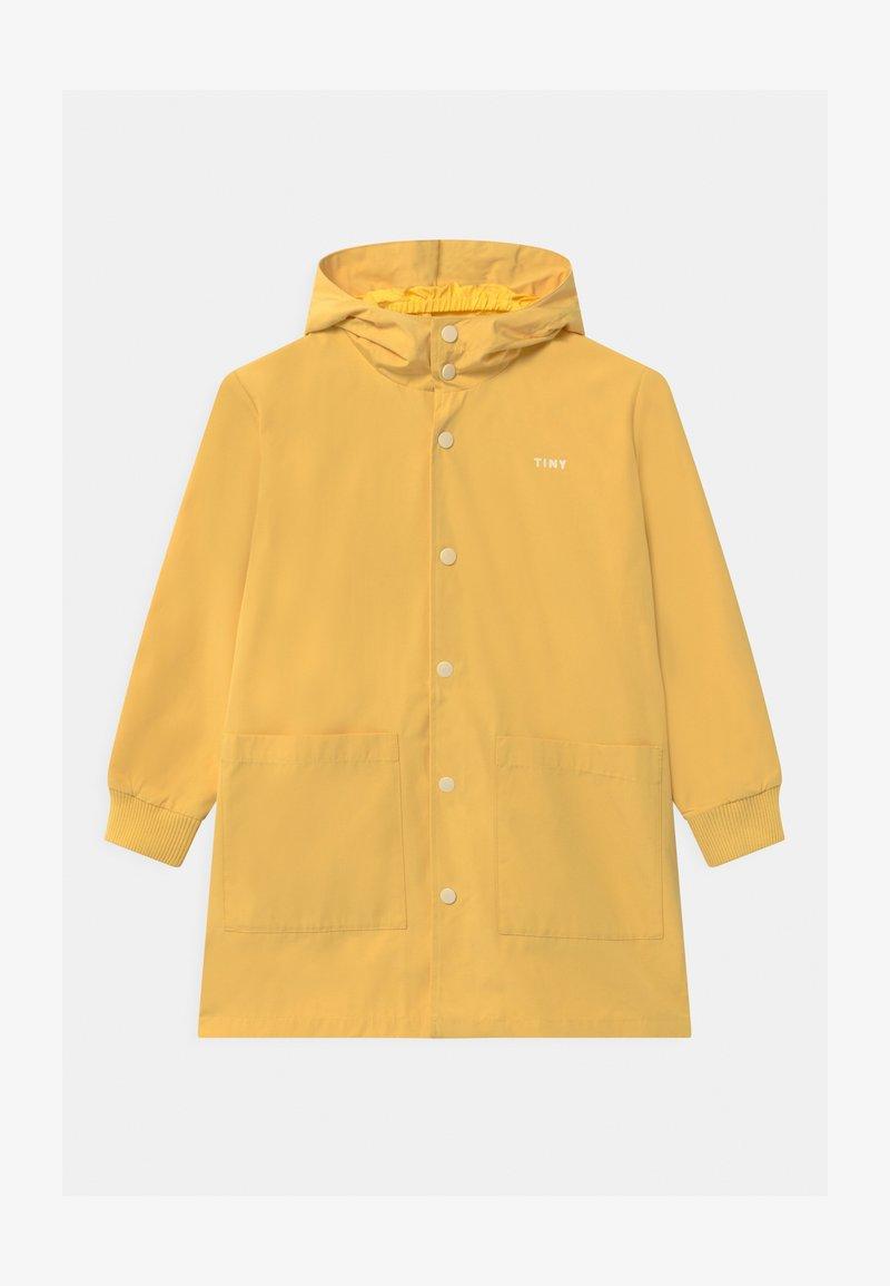 TINYCOTTONS - TINY FUJI UNISEX - Waterproof jacket - yellow/off-white
