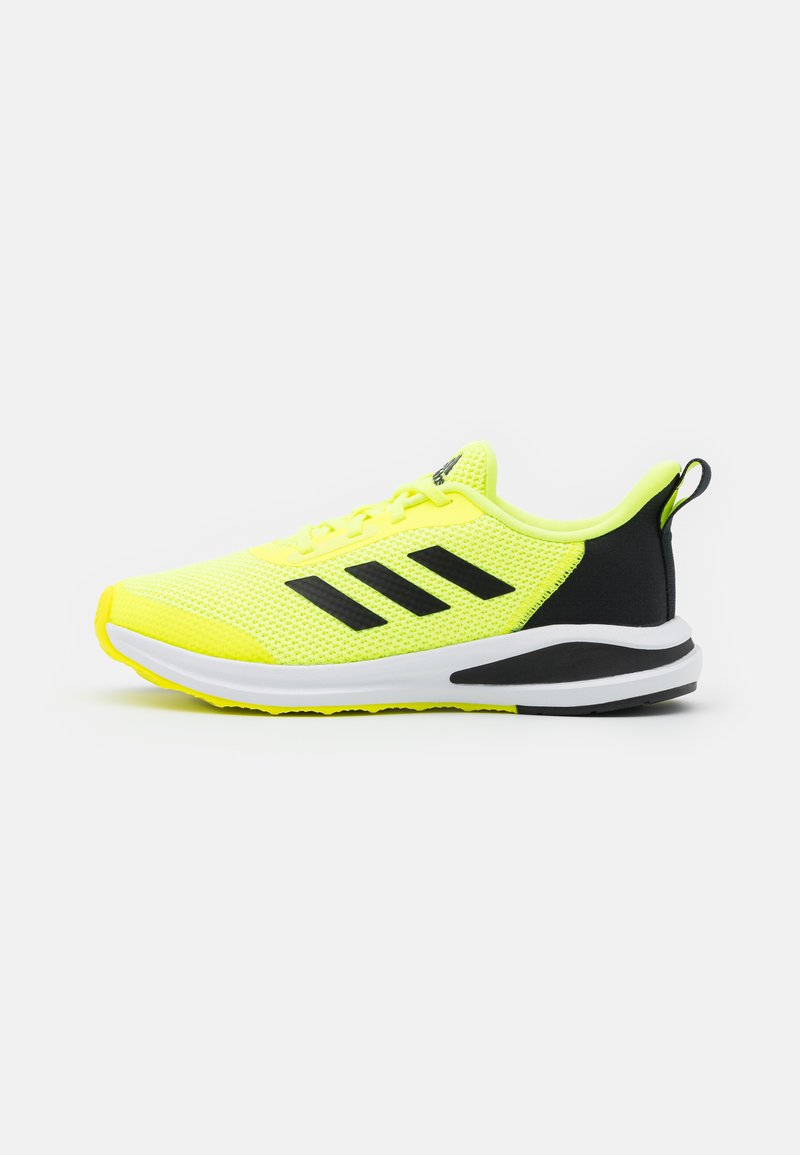 adidas Performance - FORTARUN UNISEX - Neutral running shoes - solar yellow/core black/footwear white