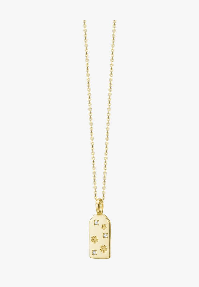 OMAMORI FLOWER NECKLACE - Ketting - gold