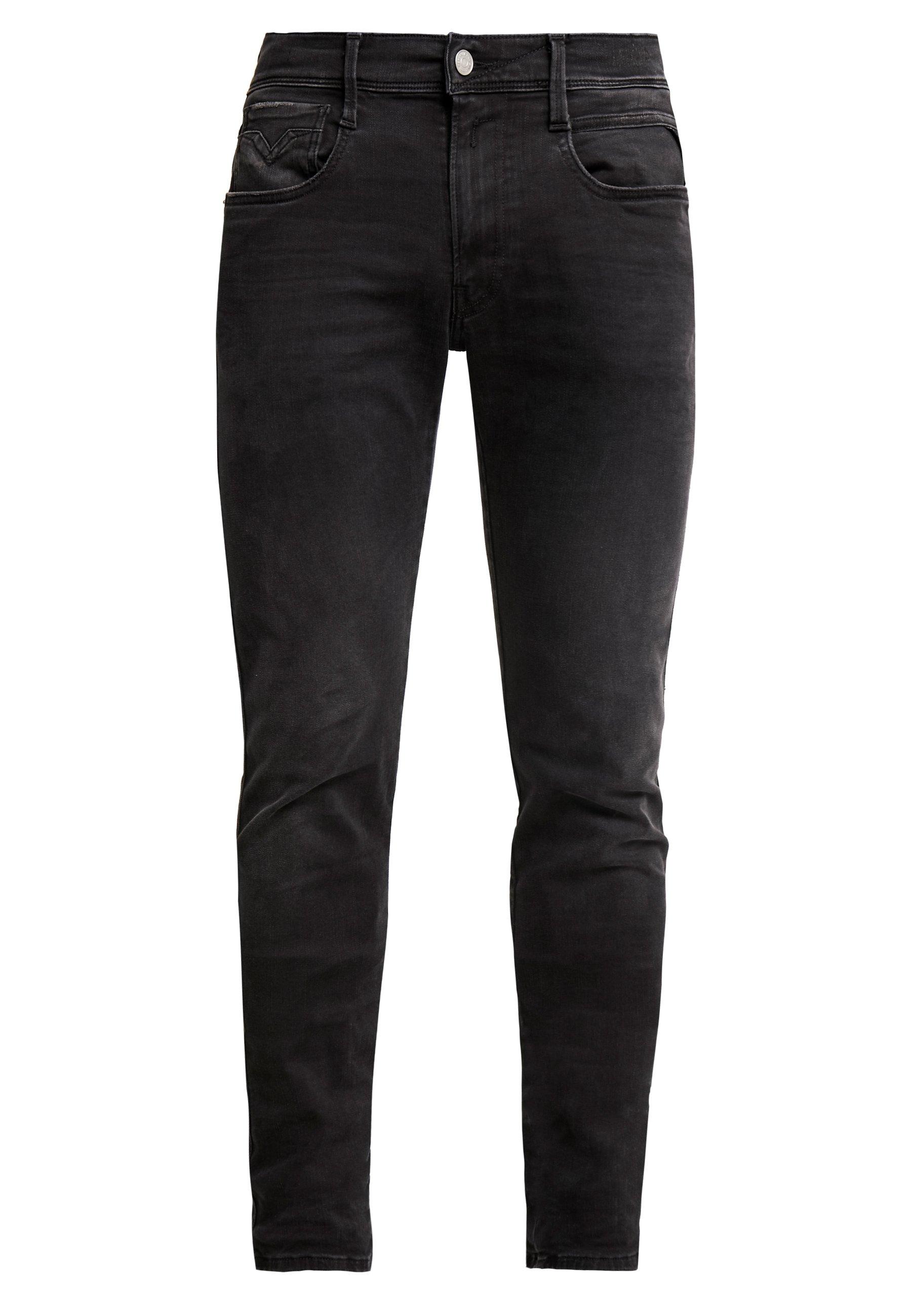 Replay ANBASS HYPERFLEX CLOUDS - Jean slim - black