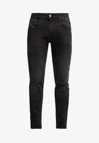 Replay - ANBASS HYPERFLEX CLOUDS - Slim fit jeans - black - 4