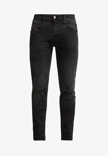 ANBASS HYPERFLEX CLOUDS - Jeans slim fit - black
