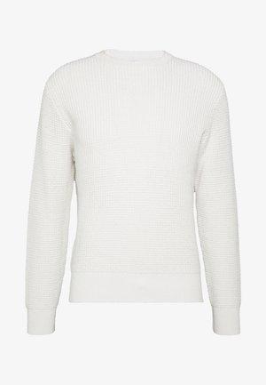 WAFFLE CREW - Pullover - sea salt
