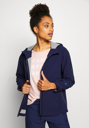 SAPUEN  - Soft shell jacket - peacoat
