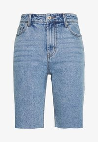ONLY - ONLEMILY LONG  - Shorts di jeans - light blue denim - 3