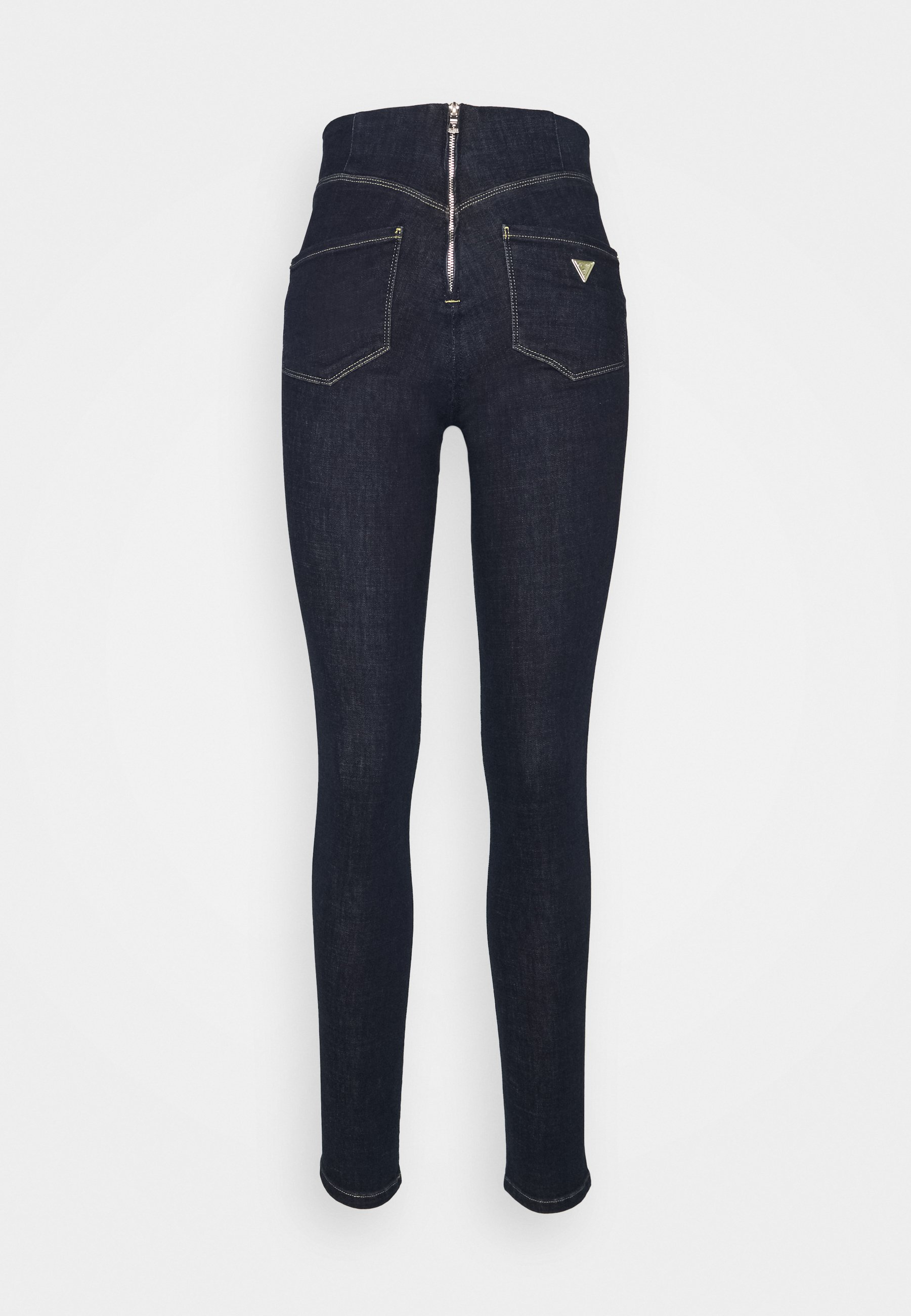 Femme ULTRA CURVE HIGH BUTTON - Jeans Skinny