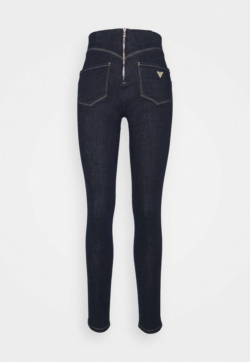 Guess - ULTRA CURVE HIGH BUTTON - Jeans Skinny Fit - one way