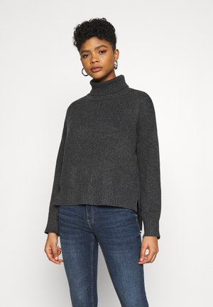 NMIAN ROLL NECK  - Jumper - dark grey melange