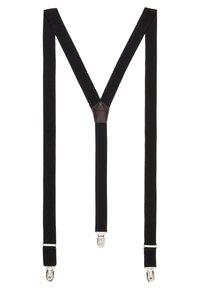 Only & Sons - ONSBOWTIE SUSPENDER SET - Bow tie - black - 2
