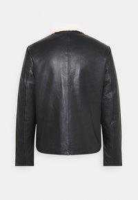 sandro - Leather jacket - noir - 1