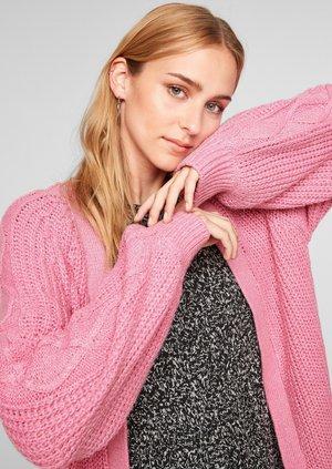 A MANCHES RAGLAN - Cardigan - pink melange