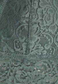 DORINA - LANA 2 PACK  - Triangle bra - green/ivory - 4