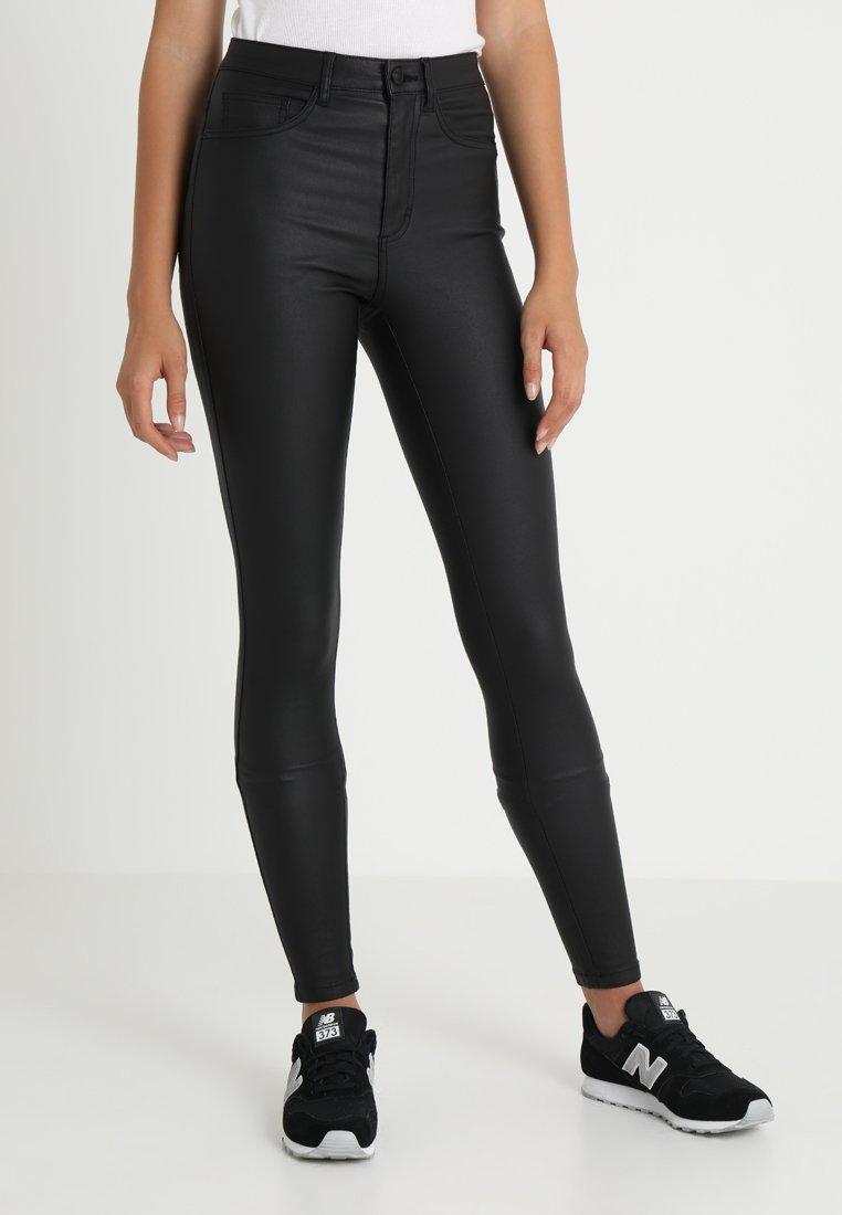 ONLY - ONLROYAL ROCK  - Spodnie materiałowe - black