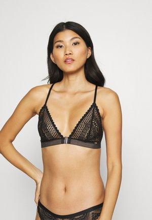 BRA GINA - Triangle bra - black