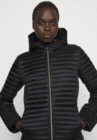 Save the duck - IRIS ALBERTA LONG HOODED COAT - Winter coat - black - 3