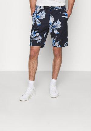 SEB SHORTS  - Shorts - navy print
