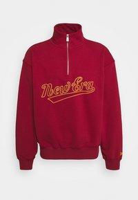HERITAGE TURTLE NECK - Sweatshirt - dark red