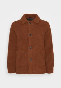 MOSTON - Summer jacket - dark tan