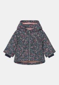 Name it - NBFMAXI JACKET PETIT FLOWER - Zimní kabát - dark sapphire - 0