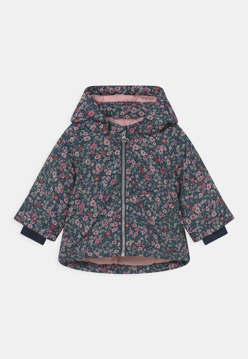 Name it - NBFMAXI JACKET PETIT FLOWER - Zimní kabát - dark sapphire