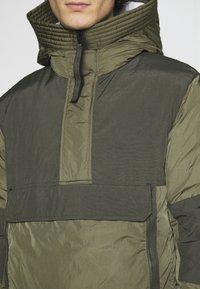 Nike Sportswear - Winter jacket - medium olive/black - 5