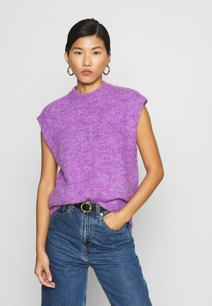 AMORA KNIT - Stickad tröja - purple