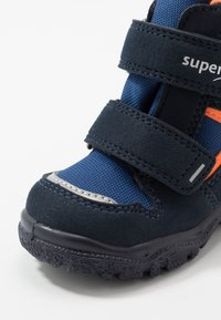 Superfit - HUSKY - Winter boots - blau/orange - 5