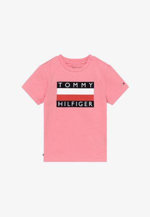 BABY FLAG  - T-shirt con stampa - pink