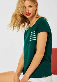 Street One - Basic T-shirt - grün - 1