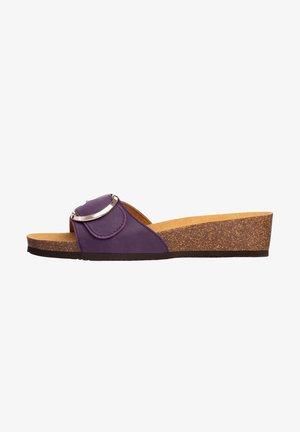 Sandalias planas - violett