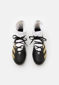 adidas Performance - PREDATOR 20.3 FOOTBALL BOOTS FIRM GROUND - Fußballschuh Nocken - footwera white/gold metallic/core black - 3