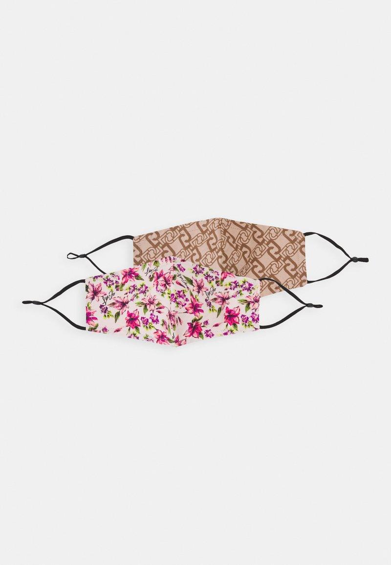 LIU JO - FACE MASK 2 PACK - Maschera in tessuto - multicoloured