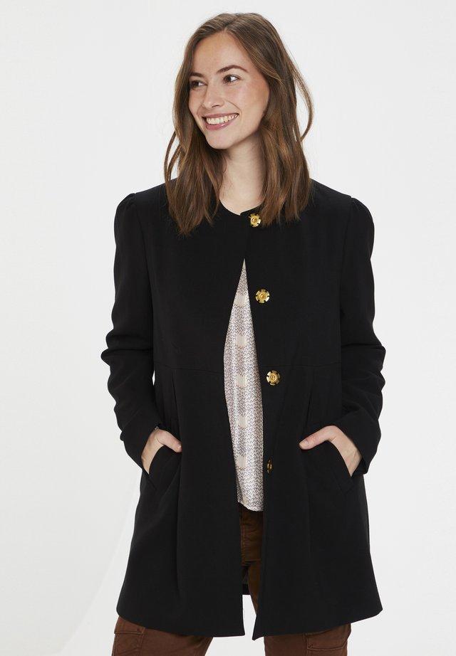 CUELENORA  - Krótki płaszcz - black