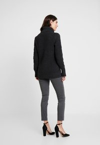 GAP - ANKLE BISTRETCH - Kalhoty - heather charcoal - 2