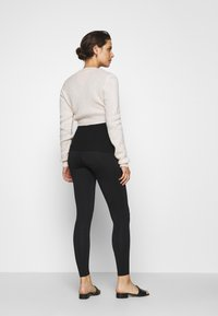 LOVE2WAIT - LEGGINGTRAVELLER - Leggings - Trousers - black - 2