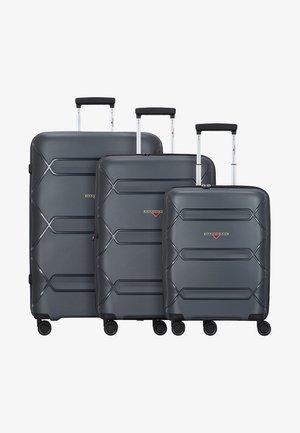 3PACK - Set de valises - dark grey