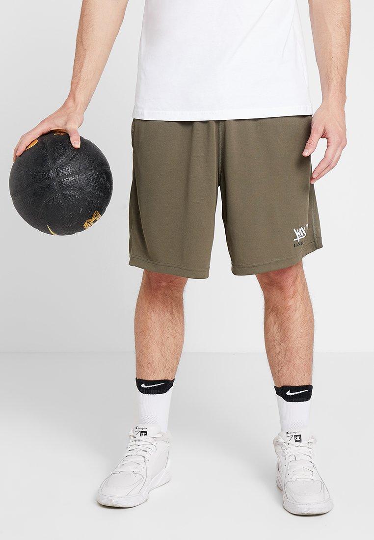 K1X - CREST SHORTS  - kurze Sporthose - tarmac