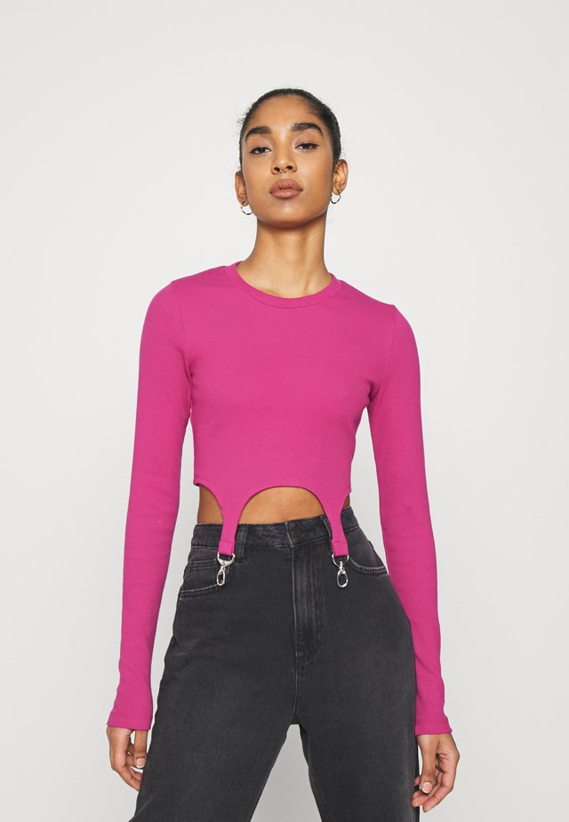 CLONED TEE - Long sleeved top - pink