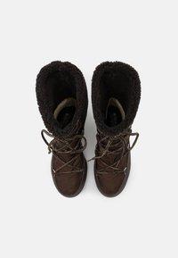 Moon Boot - MONACO MID WP - Winter boots - dark brown - 5