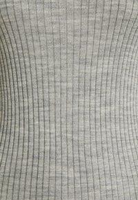 Selected Femme Petite - SLFCOSTINA ROLLNECK - Jumper - light grey melange - 2