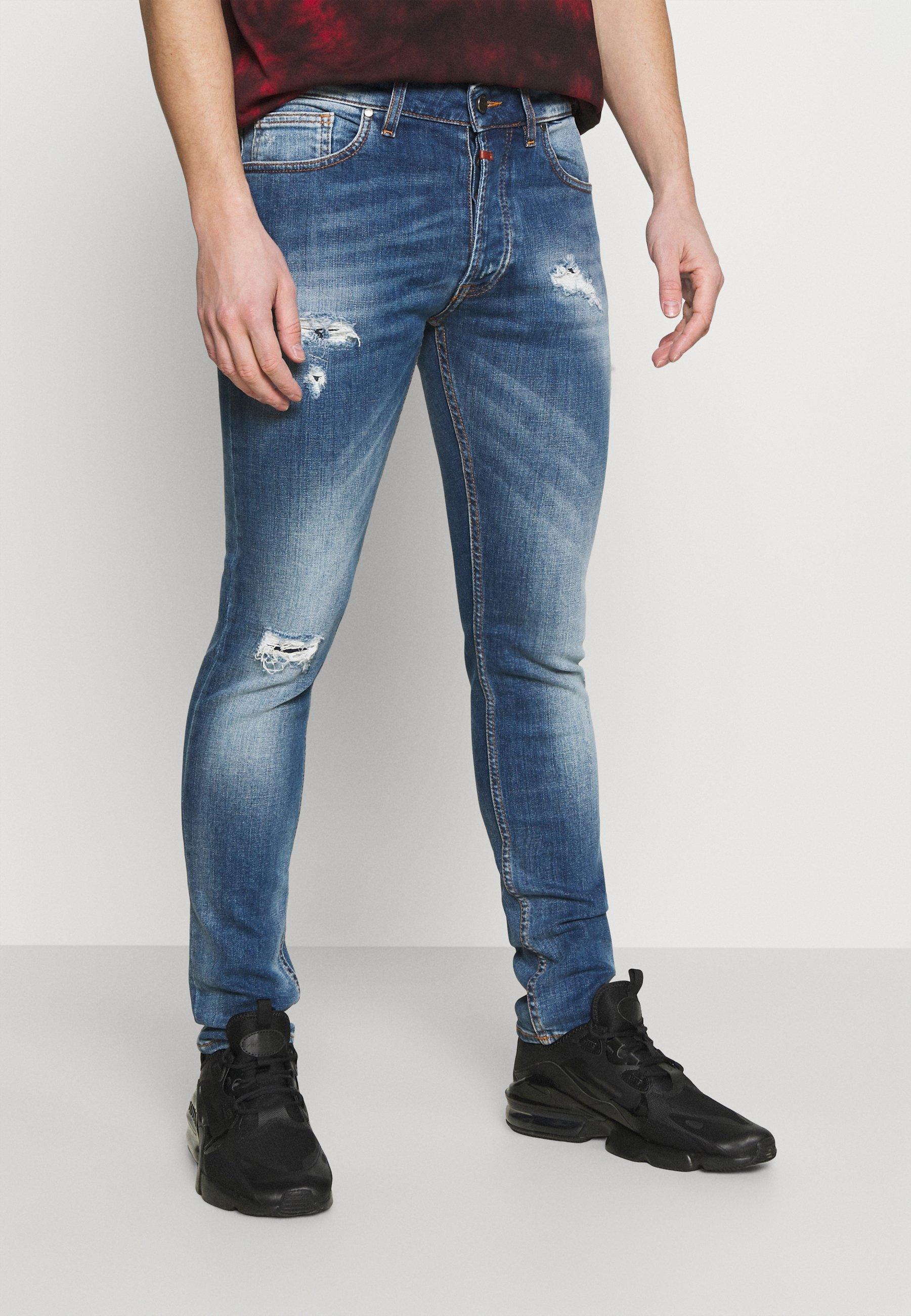 Men MORTEN REPAIRED - Jeans Skinny Fit