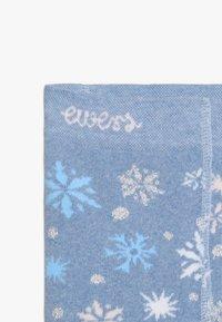 Ewers - SCHNEEFLOCKEN GLITZER - Leggings - light blue - 4