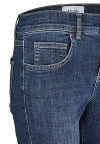 Angels - ANKLE ZIP SHINE' MIT MODISCHEN DETAILS - Jeans Skinny Fit - blue denim - 2