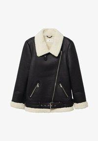 Mango - ADRI-I - Faux leather jacket - black - 7