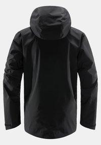 Haglöfs - TJÄRN JACKET  - Hardshell jacket - true black - 6