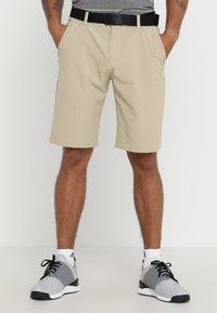 adidas Golf - SHORT - Träningsshorts - raw gold - 0