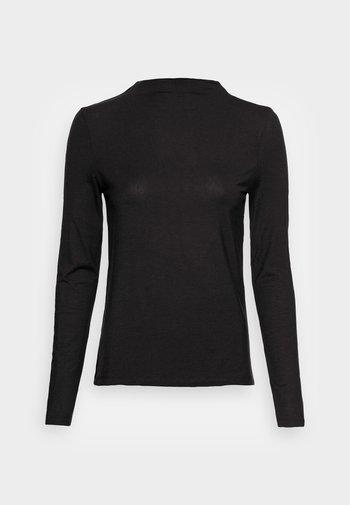 VMAVA H NECK - Long sleeved top - black